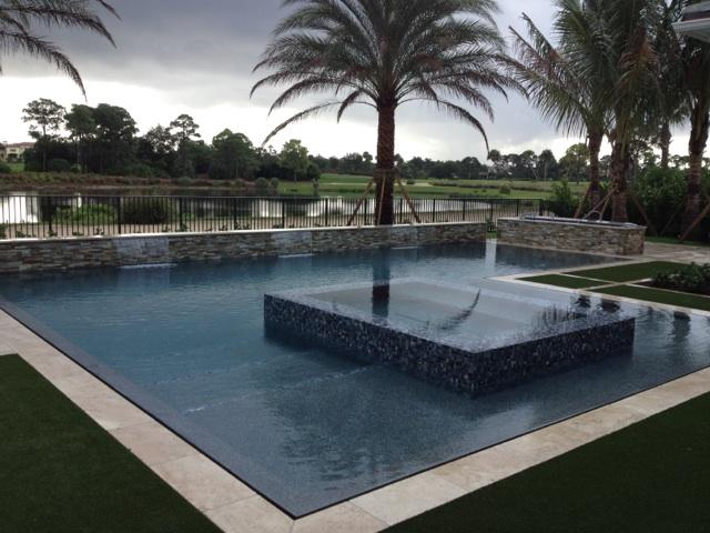 rhr pools jupiter florida infinity edge pool and spa
