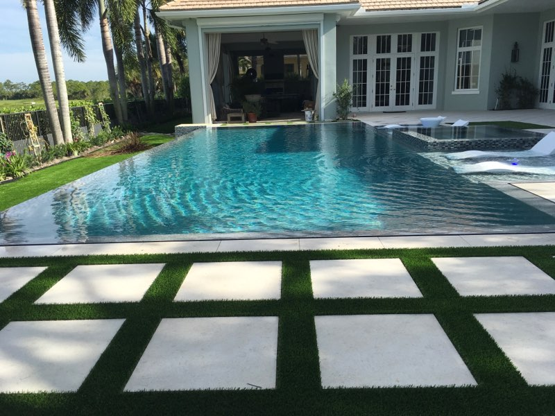 rhr pools infinity edge pool and spa in jupiter fl
