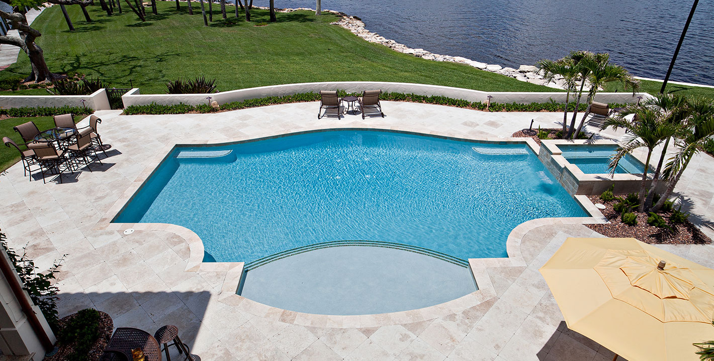 Rhr Pools Top Custom Swimming Pool Builder In Jupiter Palm Beach